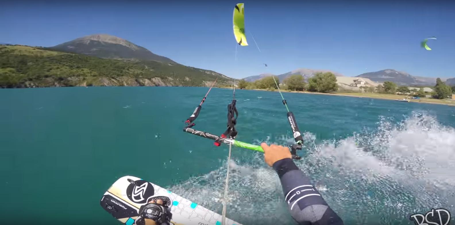 Airstyle at the lake ! Part #1
