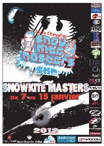 Snowkite Master 2012. Ca se rapproche..