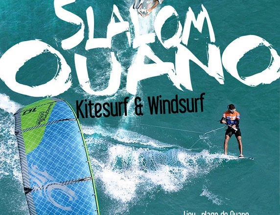 Slalom kite