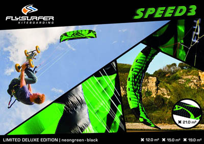Green Hornett : série limitée de la Flysurfer Speed 3
