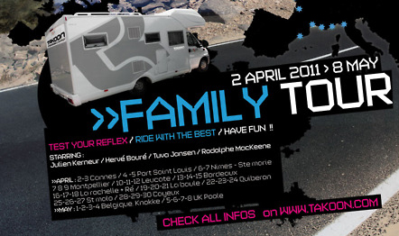 Takoon Family Tour en Bretagne