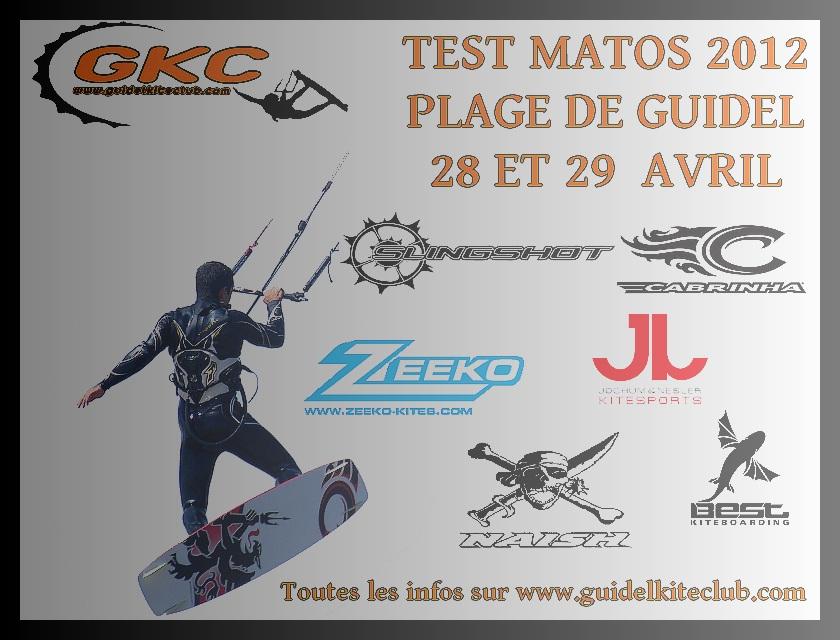 Guidel Kite Surf : test matos