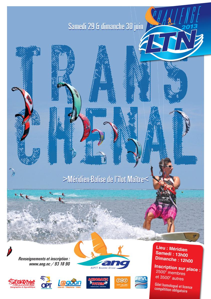 Challenge LTN de kitesurf TRANSCHENAL