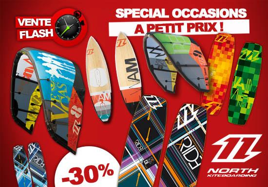 Vente Flash Matos d'occasion North 2012!