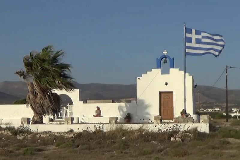 Pauline Valesa en Grèce