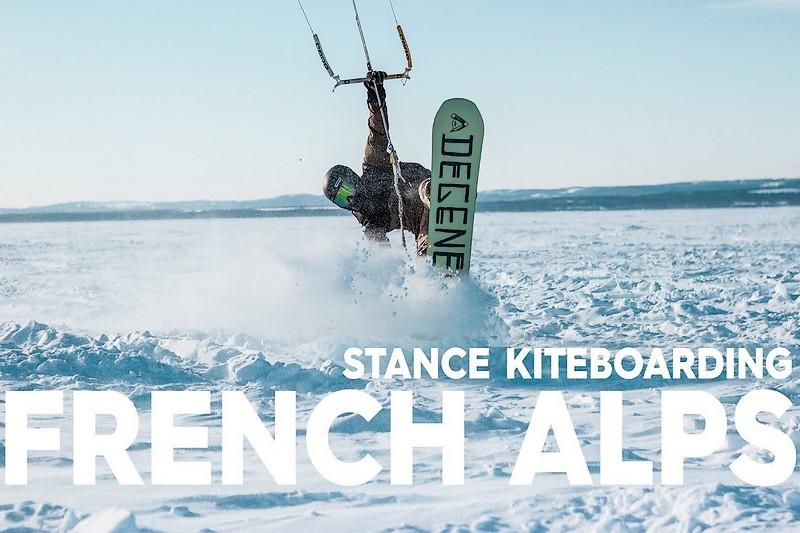 Stance Webstory : Snowkite