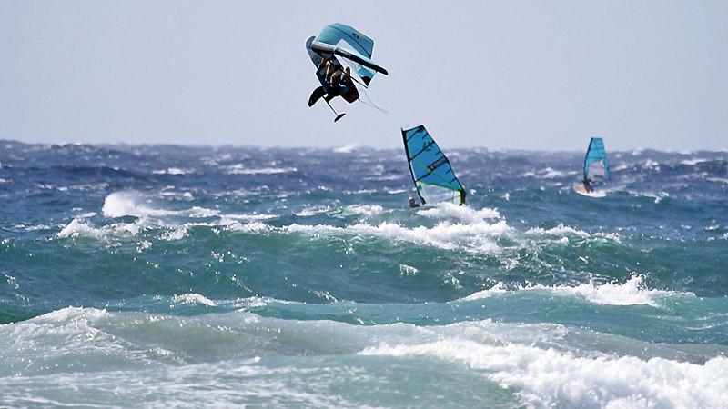 Du wingsurf de haut vol avec Klaas Voget !