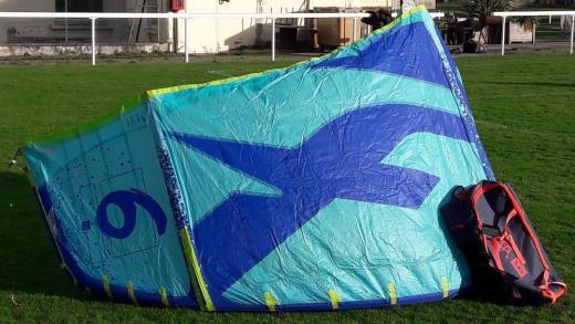 Aile kitesurf FOne Bandit XII (2019) 6m comme neuve