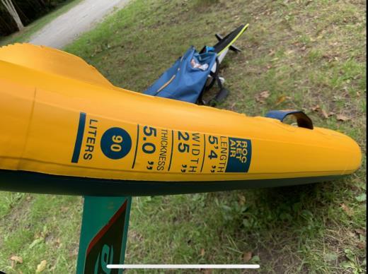 Fone Rocket Air 5'4 2020 wingfoil neuve