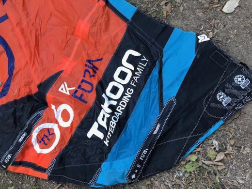 Aile de kitesurf Takoon Furia 6 m²