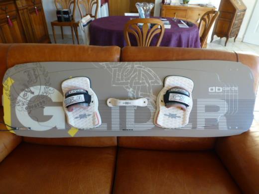 "planche Aboard  "" Glider""  Kiteboarding  147/45"