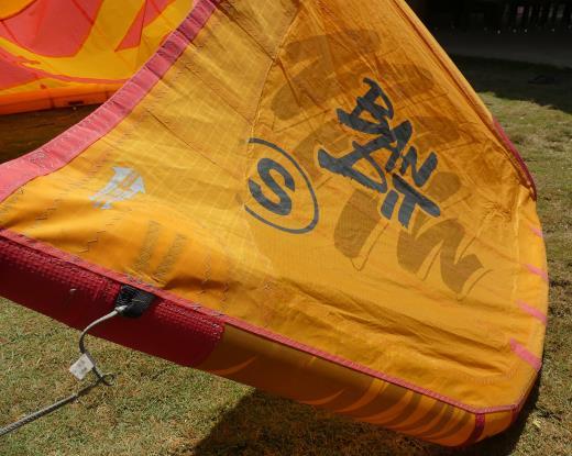 Kitesurf F-one Bandit S 2020 de 7m Mango Coral en bon état + barre Monolith de 38-45cm 24m en BE