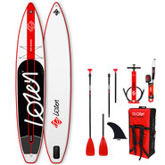 PADDLE GONFLABLE LOZEN 12.6 FUSION TOURING/RACE 2019