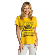 T-SHIRT RIP CURL CORAL BAY TEE FEMME JAUNE