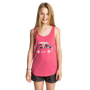 T-SHIRT RIP CURL FLORAL VAN TANK JUNIOR ROSE
