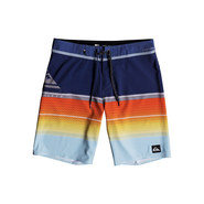 BOARDSHORT QUIKSILVER HIGHLINE SLAB 20 BLEU / ORANGE