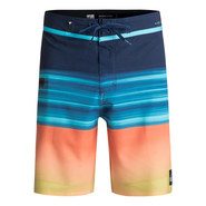 BOARDSHORT QUIKSILVER HIGHLINE HOLD DOWN VEE 18 BLEU / ORANGE