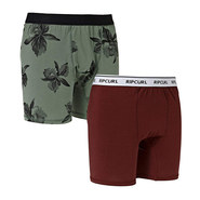 PACK 2 BOXER RIP CURL SOLID ET ARTY