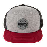 CASQUETTE MYSTIC THE COIL ROUGE