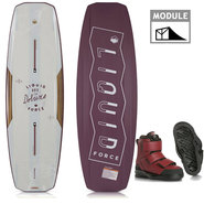 PACK WAKEBOARD LIQUID FORCE DELUXE 2018 + HOOK 4D