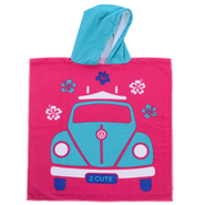PONCHO JUNIOR COMBI VW ROSE