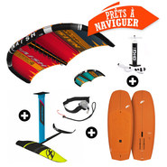 PACK WINGSURF NAISH WING-SURFER + F-ONE ROCKET WING + F-ONE GRAVITY 1800