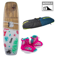 PACK WAKEBOARD RONIX SPRING BREAK 2018 + RONIX LUXE