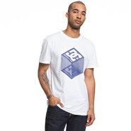 T-SHIRT DC SHOES VOLUME BLANC