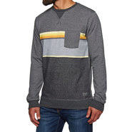 SWEAT RIP CURL YARN DYED STRIPE CREW