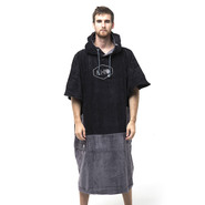 PONCHO ALL IN BIG FOOT NOIR CHARCOAL