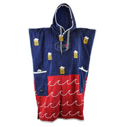 PONCHO ALL-IN CLASSIC BUMPY NAVY BEER