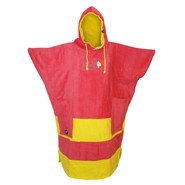 PONCHO ALL-IN V BUMPY ROSE/JAUNE