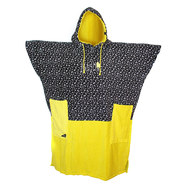PONCHO ALL-IN V BUMPY JAUNE PRINT