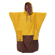 PONCHO ALL-IN V BUMPY MARRON/JAUNE