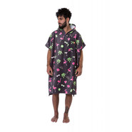 PONCHO AFTER PARADISE ANTHRACITE
