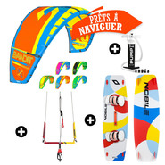 PACK KITESURF F-ONE BANDIT 2017 + NOBILE NBL 2016