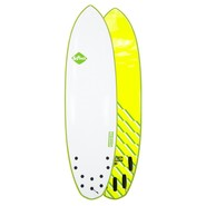 SURF SOFTECH BRAINCHILD FCS II 6.6 GREEN WAVE