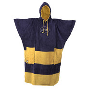 PONCHO ALL IN BIG FOOT NAVY/BEIGE