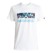 T-SHIRT QUIKSILVER CLASSIC JUNGLE BOX BLANC