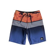 BOARDSHORT QUIKSILVER HIGHLINE LAVA DIVISION 17 JUNIOR NAVY