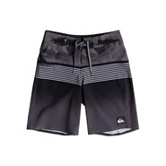 BOARDSHORT QUIKSILVER HIGHLINE LAVA DIVISION 17 JUNIOR NOIR
