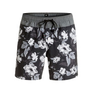 BOARDSHORT QUIKSILVER JUNGLE FEVER 17 NOIR