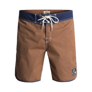 BOARDSHORT QUIKSILVER ORIGINAL SCALLOP 18 MARRON
