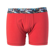 BOXER RIP CURL SOLID COLORS ROUGE