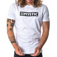 T-SHIRT MYSTIC BRAND BLANC