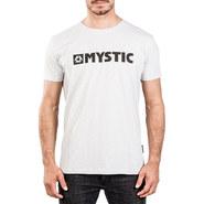 T-SHIRT MYSTIC BRAND 2.0 GRIS