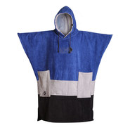 PONCHO ALL-IN V BUMPY COBALT