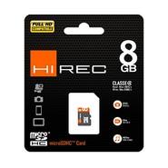 CARTE MICRO SD HC HIREC 8GB