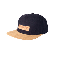 CASQUETTE MANERA NEW NAVY/NOUGAT
