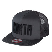 CASQUETTE NORTH NEW ERA 9FIFTY A FRAME GRISE FONCEE